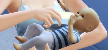 Bottle Feeding Baby in Sims 4