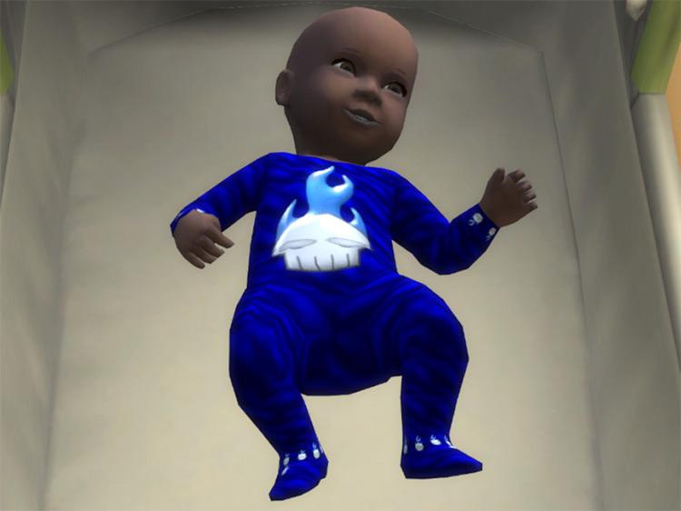 Skull Baby Onesie Sims 4 CC