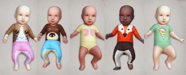 Baby Defaults 2.0 TS4 CC