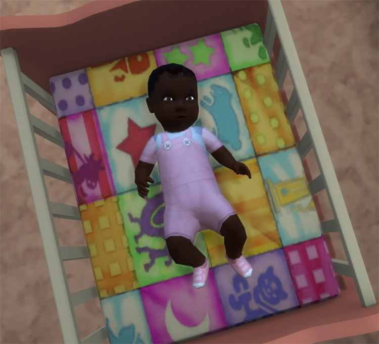 Baby Overalls Sims 4 CC