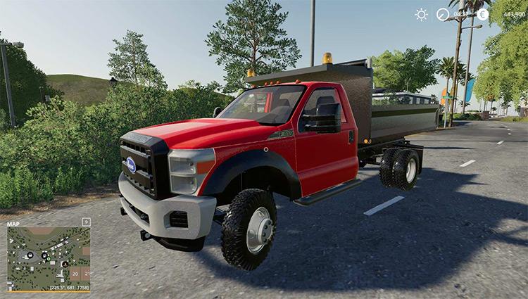F550 Dump Truck Mod for FS19