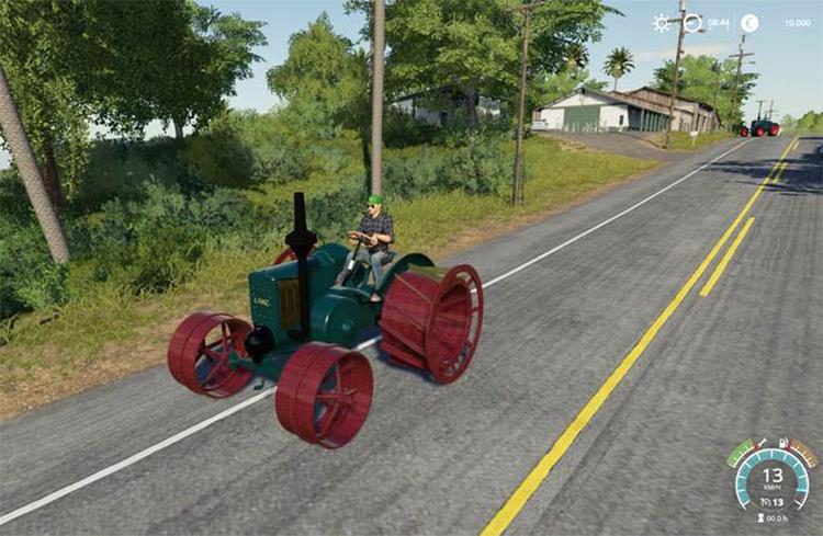 Lanz HR5 Moorbulldog Tractor Mod