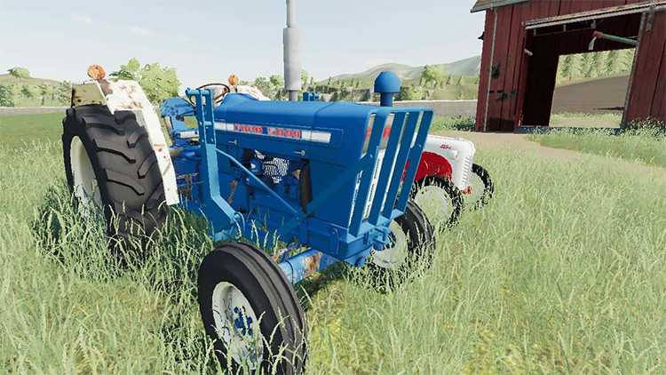 Ford 5000 WIP Mod for FS19