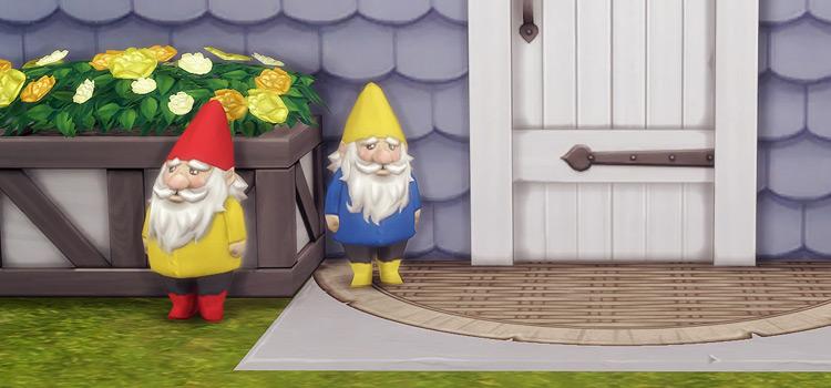 Garden Fair Weather Gnomes CC - TS4
