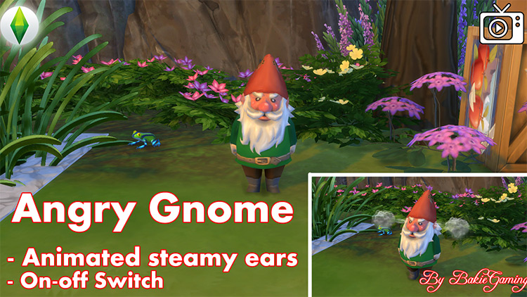 Angry Gnome Mod for The Sims 4