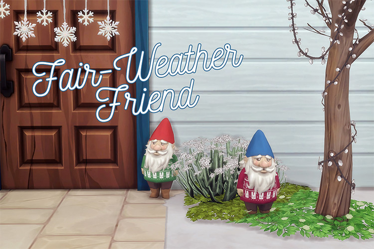 Gnomes For All Seasons - TS4 CC