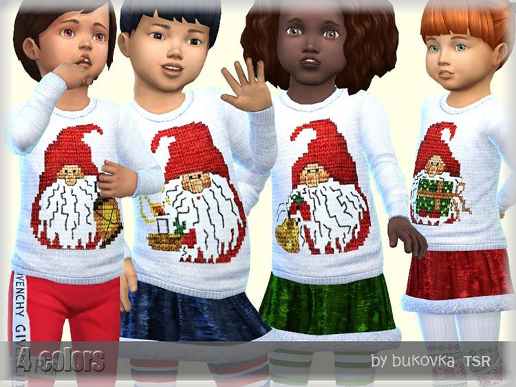Sweater Gnomes CC Design - Sims 4