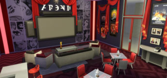 Red Carpet Home Theater Room - TS4 Preview