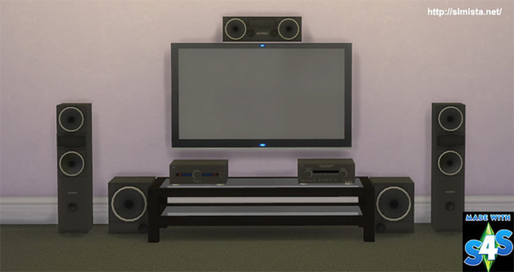Home Theater System CC - TS4