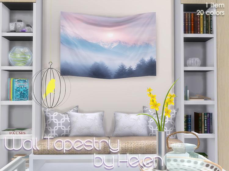 Wall Tapestries - Sims 4 CC