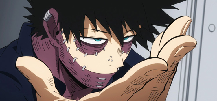 Dabi in BNHA Anime Screenshot