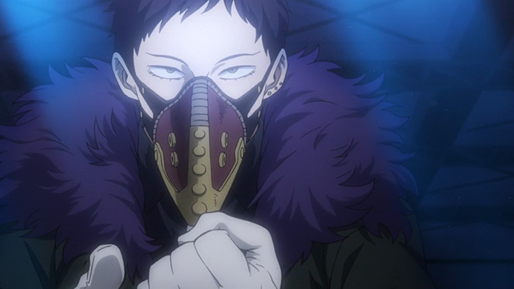 Overhaul villain in My Hero Academia anime