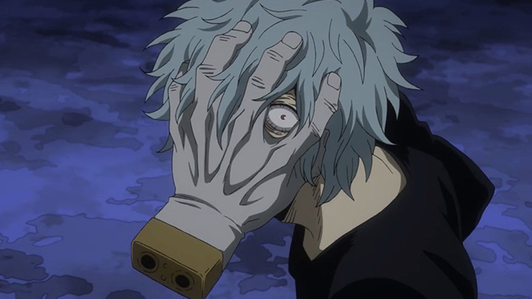 Tomura Shigaraki in My Hero Academia anime