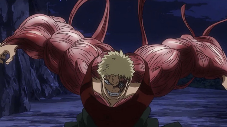 Muscular from My Hero Academia anime