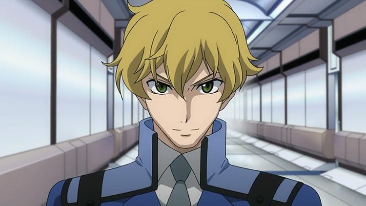 Graham Aker in Mobile Suit Gundam 00