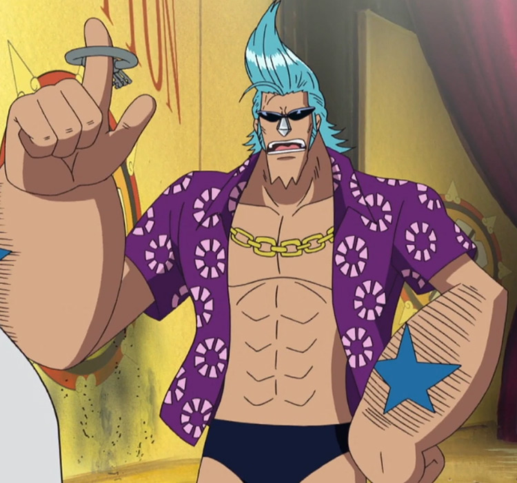 Franky from One Piece anime