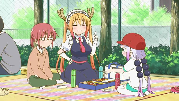 Miss Kobayashi's Dragon Maid screenshot