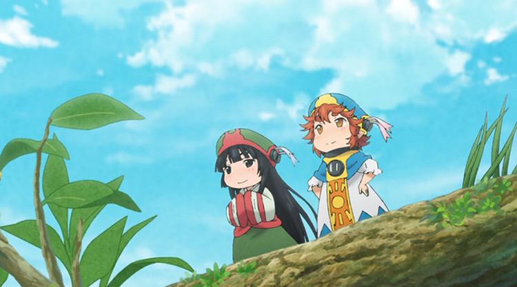 Hakumei and Mikochi anime
