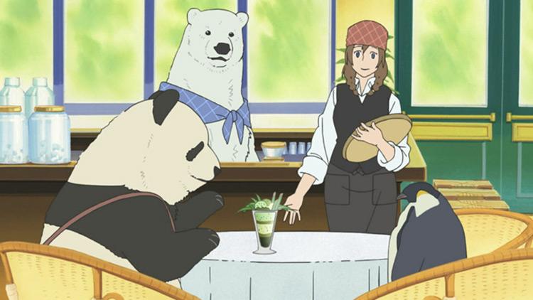 Polar Bear Cafe anime