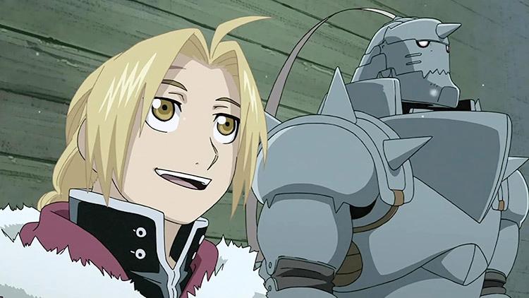 Fullmetal Alchemist: Brotherhood - Ed & Al Screenshot