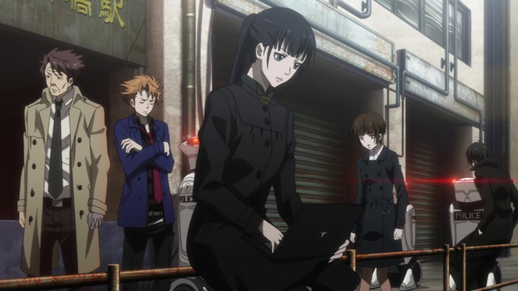 Psycho-Pass anime screenshot
