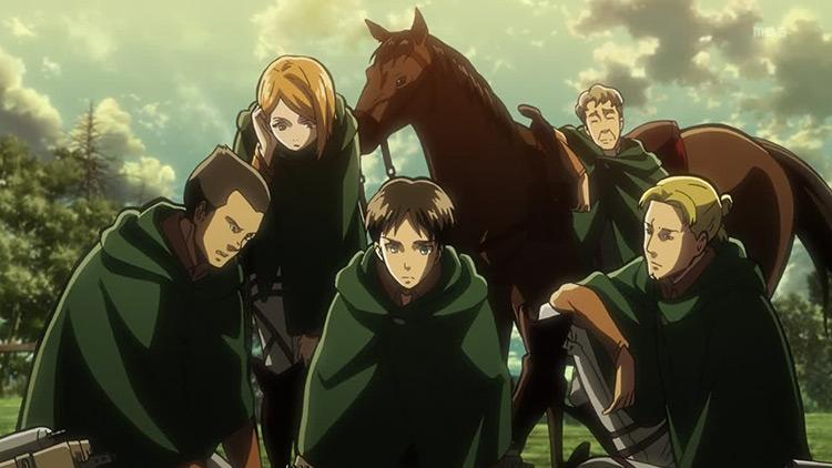 Attack on Titan anime preview screen