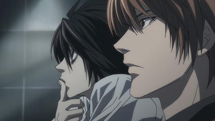 Death Note anime - dark screenshot