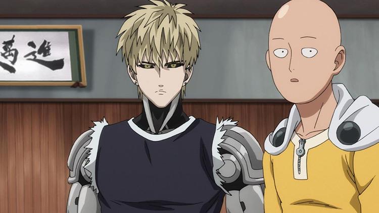 One Punch Man anime screenshot