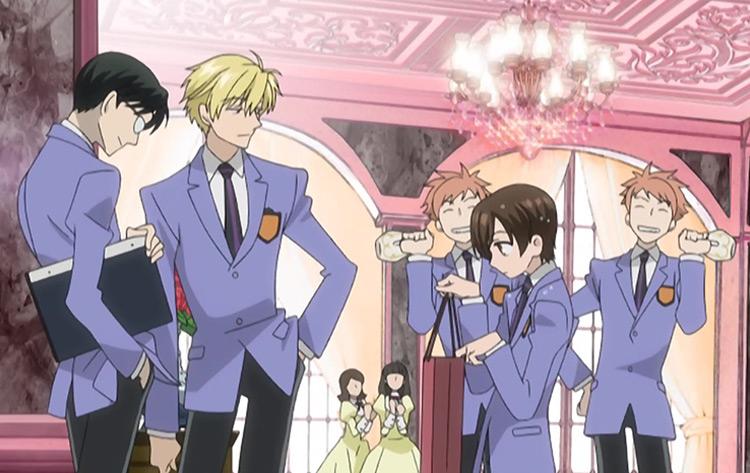 Ouran Highschool Host Club anime