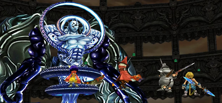 Necron Boss in FF9 - Screenshot