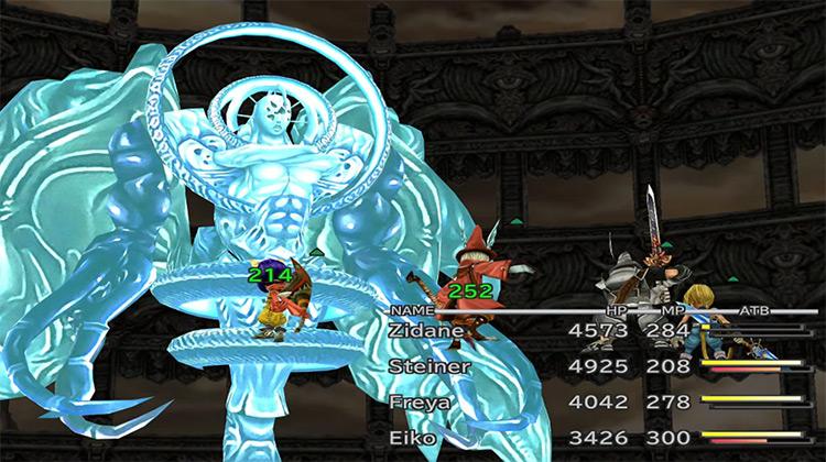 Necron FF9 boss