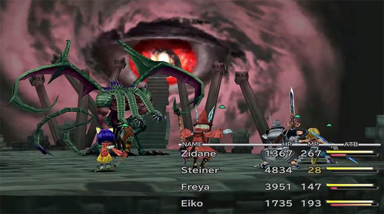 Tiamat boss in Final Fantasy 9
