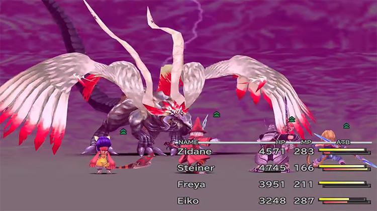 Nova Dragon Final Fantasy 9 boss