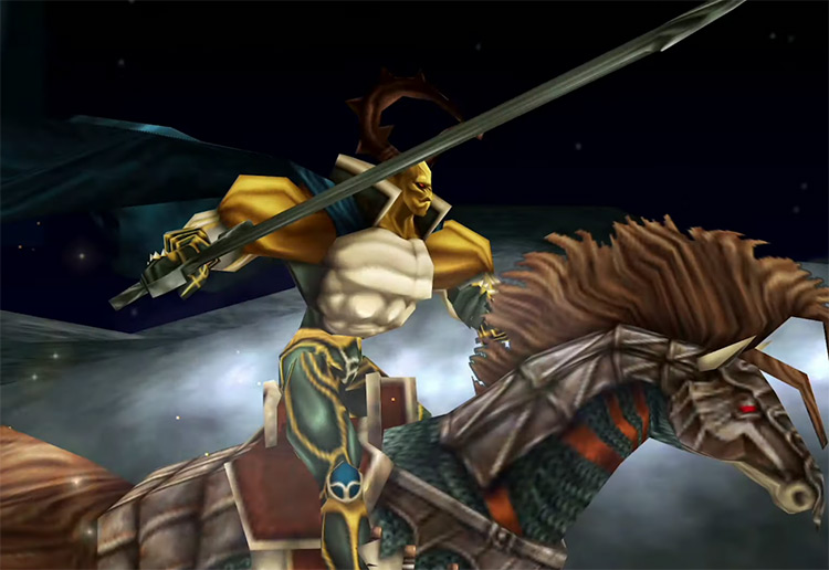 Odin Summon in Final Fantasy 9