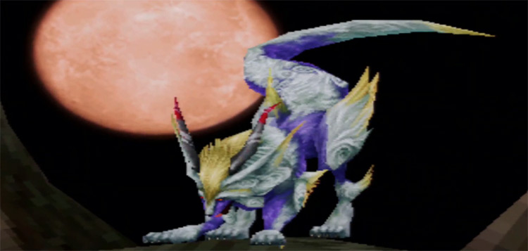 Fenrir Summon from FFIX