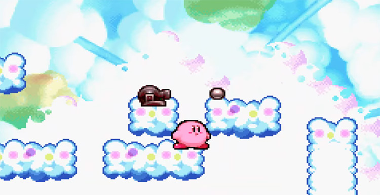 Kirby in Kirby's Dream Land