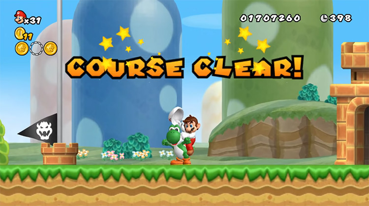Yoshi in Super Mario Maker