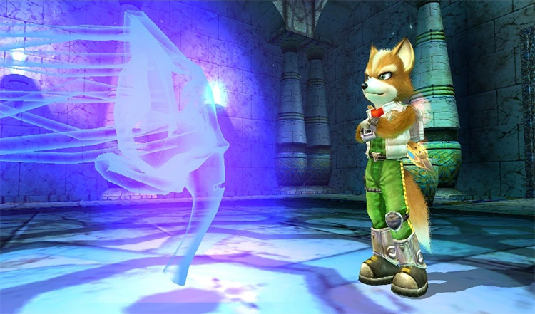 Fox McCloud Nintendo Character in Star Fox