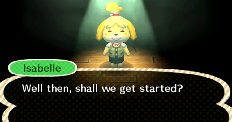 Isabelle in Animal Crossing: New Leaf