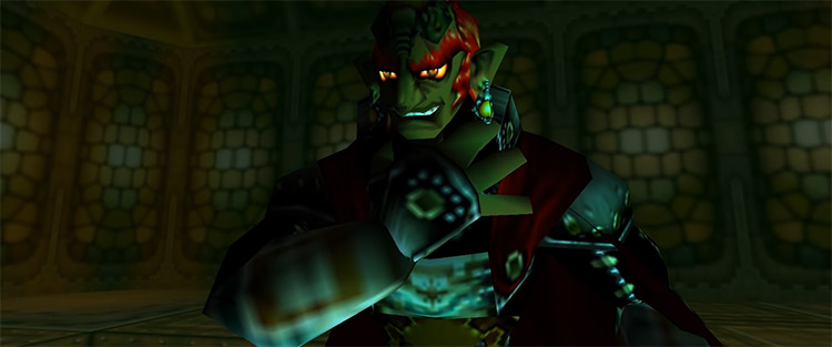 Ganondorf in The Legend of Zelda: Ocarina of Time