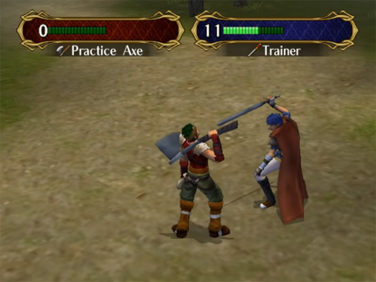Ike Fire Emblem: Path of Radiance Gameplay
