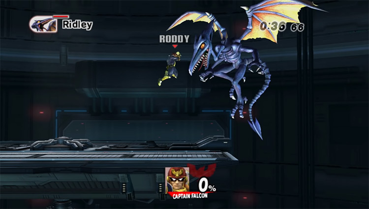 Ridley in Metroid