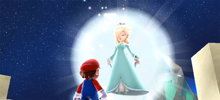 Rosalina in Super Mario Galaxy
