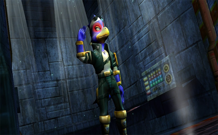 Falco Lombardi Star Fox Gameplay