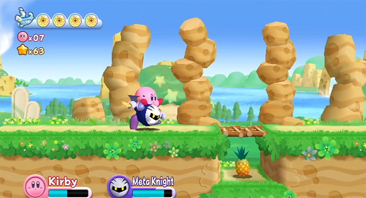 Meta Knight Kirby's Adventure