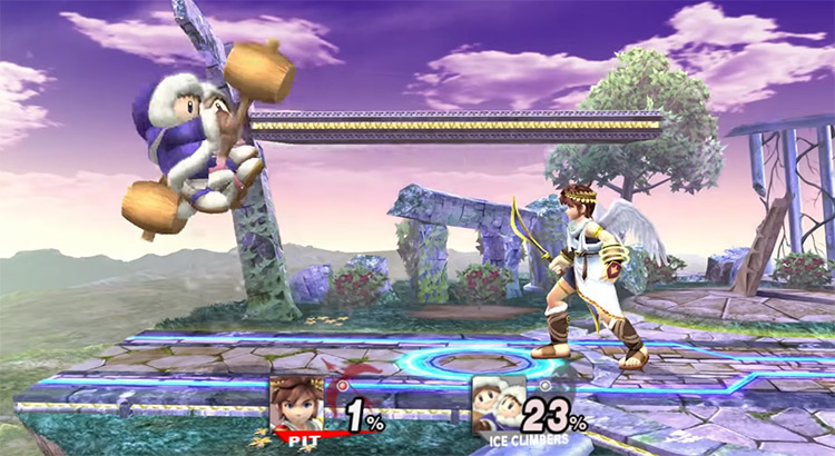 Pit Nintendo Character in Smash