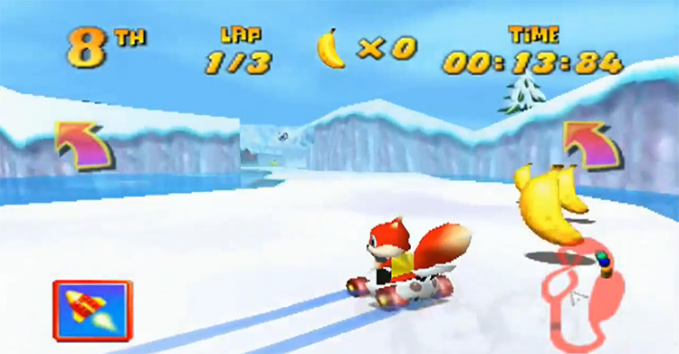 Conker the Squirrel Diddy Kong Racing