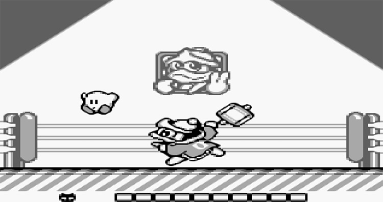 King Dedede in Kirby's Dream Land