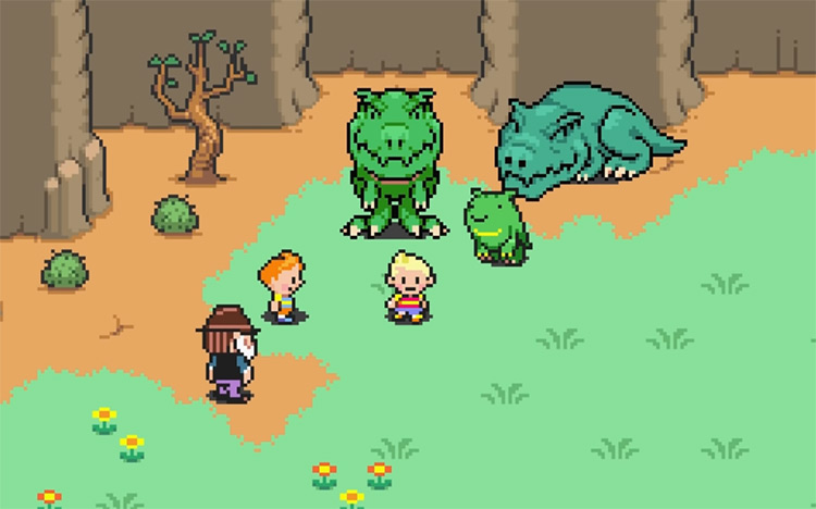 Lucas Nintendo Character in Mother 3