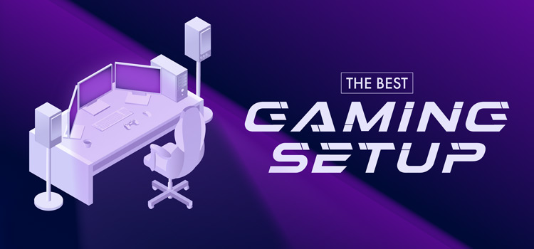 Header image for the best gaming setup competition.
